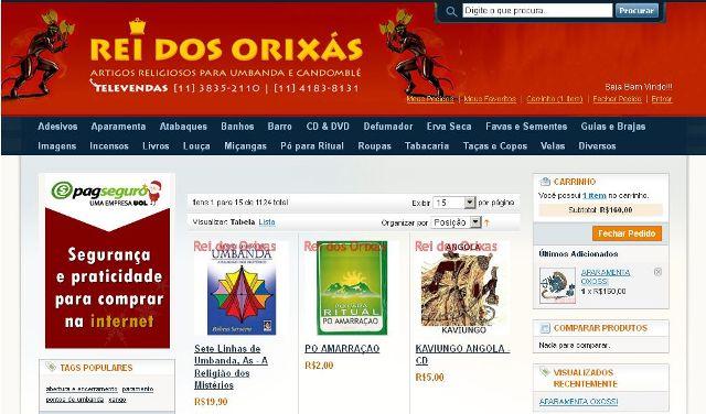 506877 Rei dos Orixás Artigos de umbanda: onde comprar online