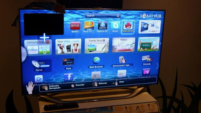 506980 011 Angry Birds para SmartTVs da Samsung