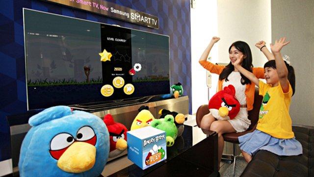 506980 Angry Birds para SmartTVs da Samsung 01 Angry Birds para SmartTVs da Samsung
