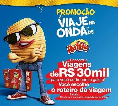 507330 Promoção Ruffles viaje na onda1 Promoção Ruffles Viaje na Onda