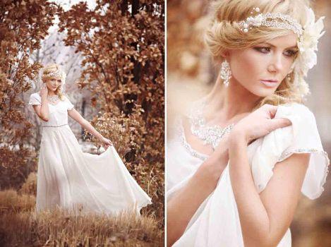 507501 Vestidos de noiva vintage fotos 16 Vestidos de noiva vintage: fotos