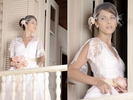 507501 Vestidos de noiva vintage fotos 17 Vestidos de noiva vintage: fotos