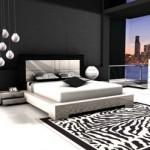 508147 Decoração de quarto preto e branco dicas fotos 14 150x150 Decoração de quarto preto e branco: dicas, fotos