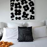 508147 Decoração de quarto preto e branco dicas fotos 150x150 Decoração de quarto preto e branco: dicas, fotos