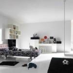 508147 Decoração de quarto preto e branco dicas fotos 19 150x150 Decoração de quarto preto e branco: dicas, fotos