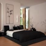 508147 Decoração de quarto preto e branco dicas fotos 3 150x150 Decoração de quarto preto e branco: dicas, fotos