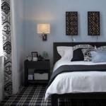 508147 Decoração de quarto preto e branco dicas fotos 4 150x150 Decoração de quarto preto e branco: dicas, fotos