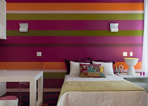 508177 Decoração de quarto colorido para jovens fotos 20 Decoração de quarto colorido para jovens: fotos
