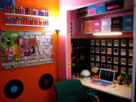 508623 Quarto colorido para meninas fotos 24 Quarto colorido para meninas: fotos