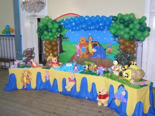508814 festa infantil pooh Decoração de aniversário urso Pooh Baby
