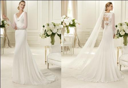 509185 Aposte nessa moda e arrase no vestido de noiva Fotodivulgação. Vestidos de noiva com transparência: fotos