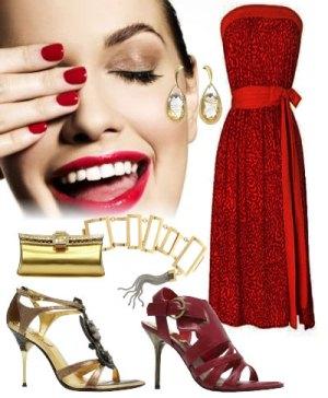 509694 Dicas para usar vestido vermelho.5 Dicas para usar vestido vermelho