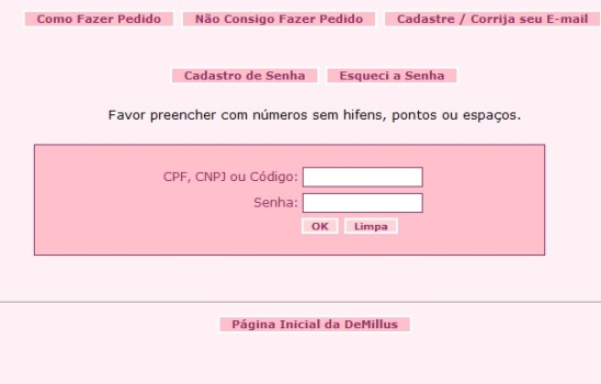 509721 Demillus pedidos facil www.demilus.com .br 2 Demillus pedidos facil, www.demilus.com.br