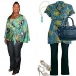509975 As blusas estampadas devem ser usadas com calças de cores neutras com as pretas Fotodivulgação. 150x150 Estampas para gordinhas: como usar