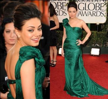 509990 A atriz Mila Kunis apostou em um lindo modelo de vestido sereia Fotodivulgação. Vestidos Sereia: modelos, fotos