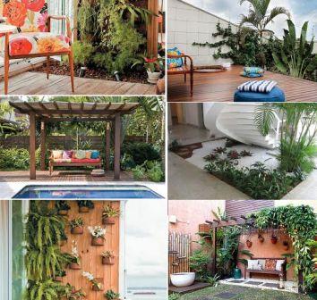 510018 Os jardins tropicais deixam o ambiente mais bonito e próximo da natureza Fotodivulgação. Jardim tropical em casa: como montar