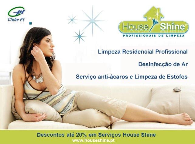 510263 House Shine 1 House Shine: franquia de prestação de serviços de limpeza