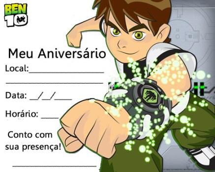 510697 Convites de festa de aniversário infantil para imprimir 3 Convites de festa de aniversário infantil para imprimir