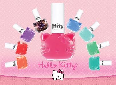 510829 Coleção de esmaltes Hits Hello Kitty.1 Coleção de esmaltes Hits Hello Kitty