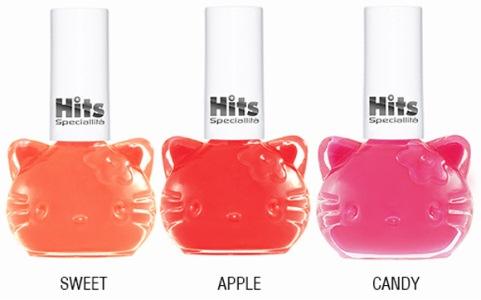 510829 Coleção de esmaltes Hits Hello Kitty.3 Coleção de esmaltes Hits Hello Kitty