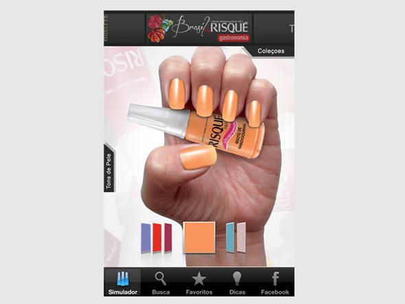 512528 Aplicativo para celular da Risqué 01 Aplicativo para celular da Risqué