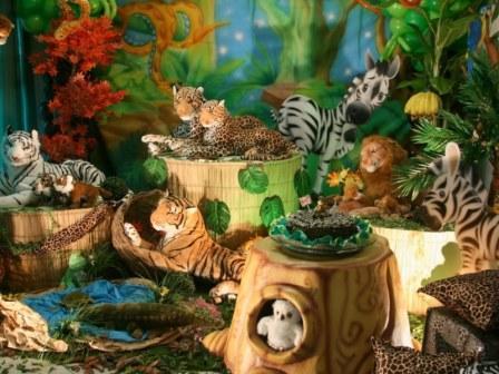 512596 decora%C3%A7%C3%A3o de festa tema zoo 1 Decoração de festa infantil, tema zoológico: fotos