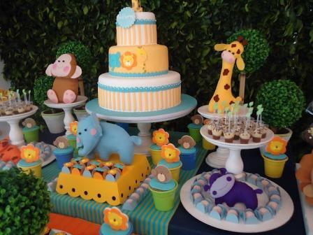 512596 decora%C3%A7%C3%A3o de festa tema zoo Decoração de festa infantil, tema zoológico: fotos