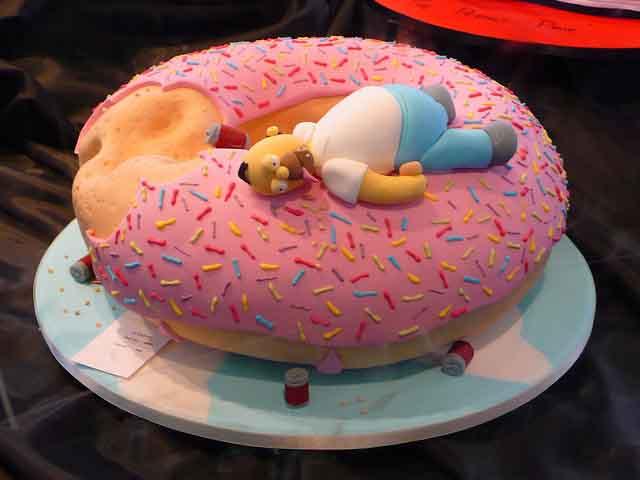 512672 Decoração de aniversário tema Os Simpsons 03 Decoração de aniversário tema   Os Simpsons