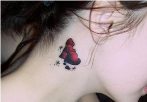 512968 Tatuagens femininas no pescoço fotos 10 Tatuagens femininas no pescoço: fotos