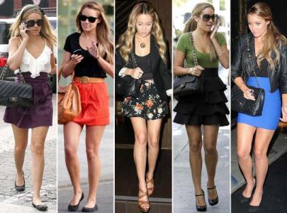 513142 Modelos de saias com cintura alta verão 2013.6 Modelos de saias com cintura alta verão 2013