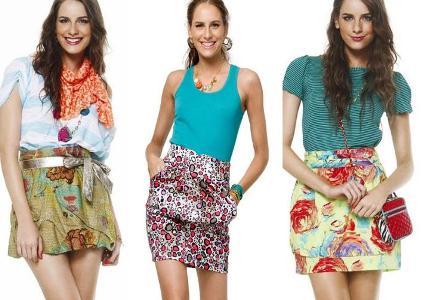 513142 Modelos de saias com cintura alta verão 2013.7 Modelos de saias com cintura alta verão 2013
