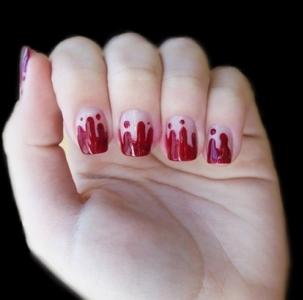 513236 Unhas de sangue como fazer.1 Unhas de sangue: como fazer