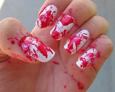513236 Unhas de sangue como fazer.4 Unhas de sangue: como fazer
