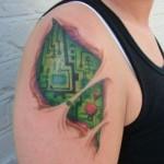 513600 Tatuagens inspiradas em tecnologia fotos 19 150x150 Tatuagens inspiradas em tecnologia: fotos