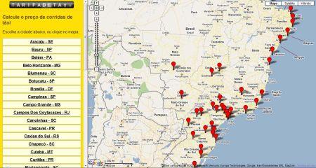 513748 site que permite estimar preco de uma corrida de taxi 3 Site que permite estimar preço de uma corrida de táxi