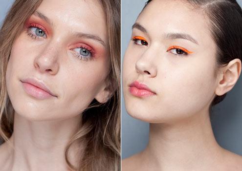 514435 As maquiagens em tons alaranjados são também conhecida como tons solares Foto divulgação. Maquiagem em tons solares, dicas, como fazer