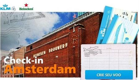 514813 Concurso cultural no check in em Amsterdam Heineken e klm Concurso cultural no Check in em Amsterdam Heineken e KLM