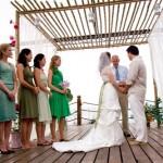 514818 O horário do casamento de praia deve ser levado em consideração durante a escolha do vestido da madrinha Foto divulgação. 150x150 Casamento na praia, vestidos para madrinhas: fotos