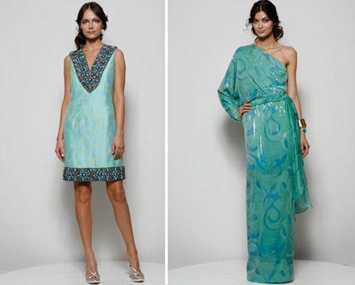 514818 Os vestidos de tecidos mais leves são os mais indicados para madrinhas de casamentos de praia Foto divulgação. Casamento na praia, vestidos para madrinhas: fotos