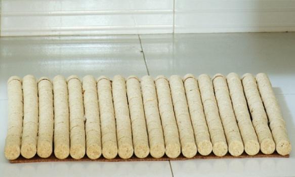 514976 Tapete de banheiro com rolhas como fazer Tapete de banheiro com rolhas, como fazer