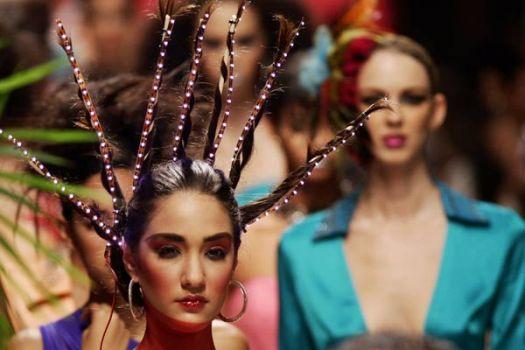 515541 Penteados estranhos e exóticos fotos 6 Penteados estranhos e exóticos: fotos