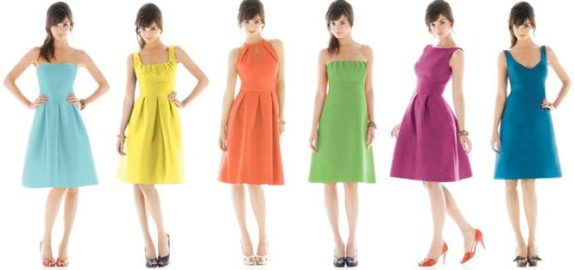 515578 Existem uma cor ideal de vestido para cada tipo de pele Foto divulgação. Cores de vestido para cada tom de pele
