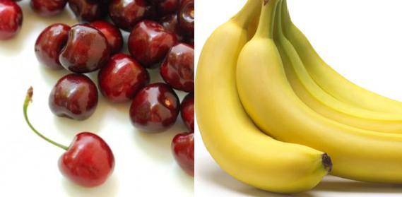 515896 bolo cereja banana 3 Receita de bolo de cereja e banana