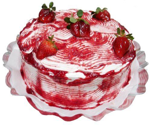 515900 bolo morango Receita de bolo de morango
