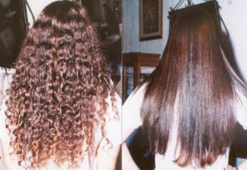 516294 O alisamento com guanidina é indicado principalmente para cabelos crespos e encaracolados Foto divulgação. Alisamento de cabelo com guanidina: benefícios, dicas