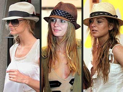 517404 Oschapéus panamás são ótimas opções de escolha Foto divulgação Chapéus para o verão 2013, tendência
