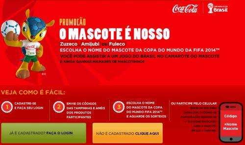 517710 promocao o mascote e nosso coca cola 2 Promoção O Mascote É Nosso Coca Cola