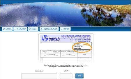 517812 caesb 2 via de conta 2 Caesb 2 via de conta