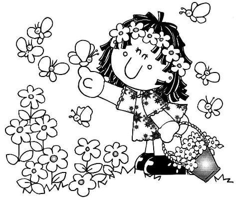518220 Desenhos sobre primavera para colorir 11 Desenhos sobre primavera para colorir