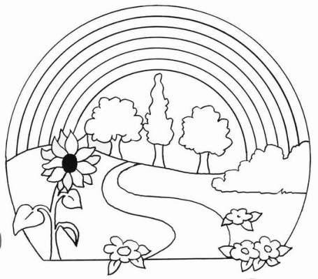 518220 Desenhos sobre primavera para colorir 3 Desenhos sobre primavera para colorir